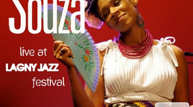 """Carmen Souza vous transporte dans """"Live at Lagny Jazz Festival 2013"""""""
