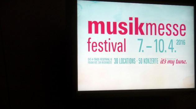 MusikMesse 2016, wieder ein Erfolg !