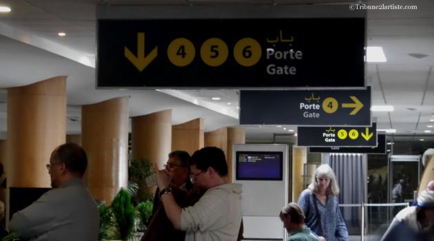 L'aéroport international de Rabat-Salé, se transforme en une immense salle de concert.
