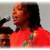 Lisa Simone Performance at the  Paris Jazz Festival-(VINCENNES)