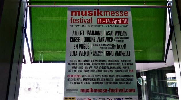 MusikMesse : Francfort dévoile de plus en plus son visage culturel.