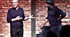 Ray Lema et Laurent de Wilde résolvent quelques énigmes au Bal Blomet.