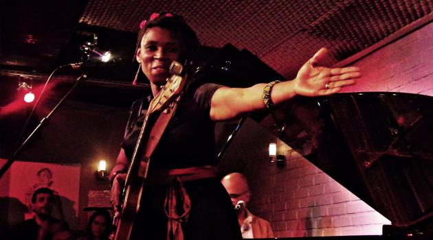 """CARMEN SOUZA ensoleille le Sunside lors de la présentation de """"THE SILVER MESSENGERS"""""""