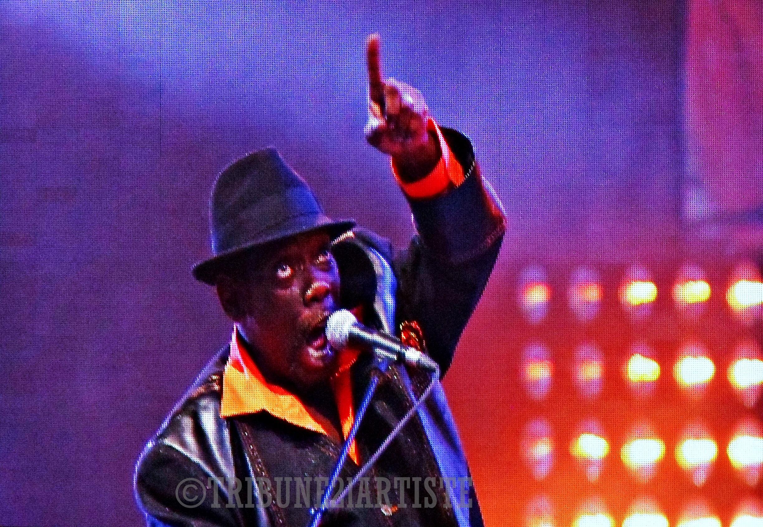 Jazz à Vienne 2014 : Lucky Peterson, l'invité de la dernière heure enflamme le Théâtre Antique.