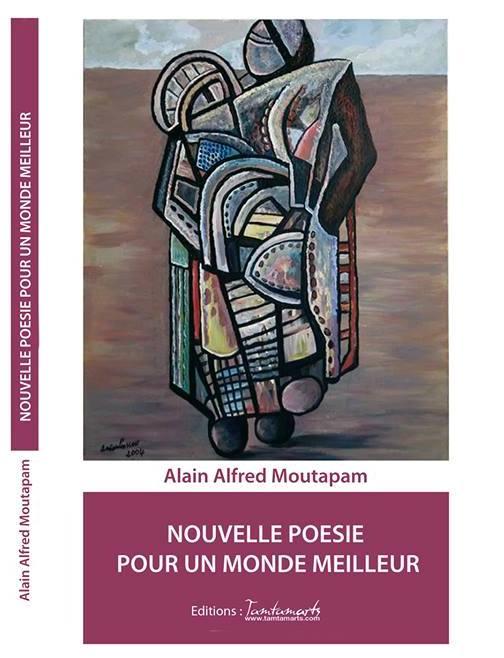 Alain Alfred Moutapam dessine un meilleur monde avec ses mots dans son recueil de poésie.