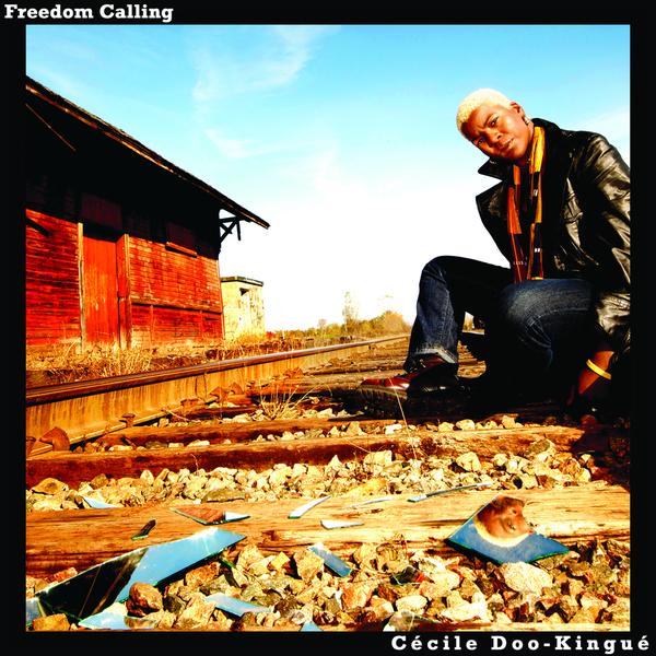 ''Freedom calling'', le premier album de Cécile Doo Kingué, guitariste de classe.