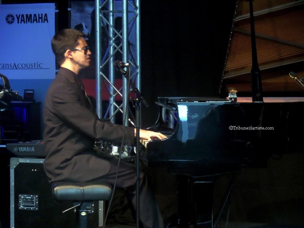 Kauflin on stage at Jazzahead