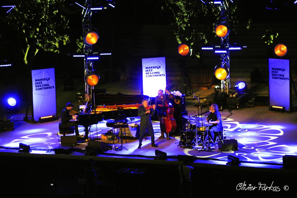 Didier Lockwood quartet vu par Olivier Farkas pour Tribune2lartiste.