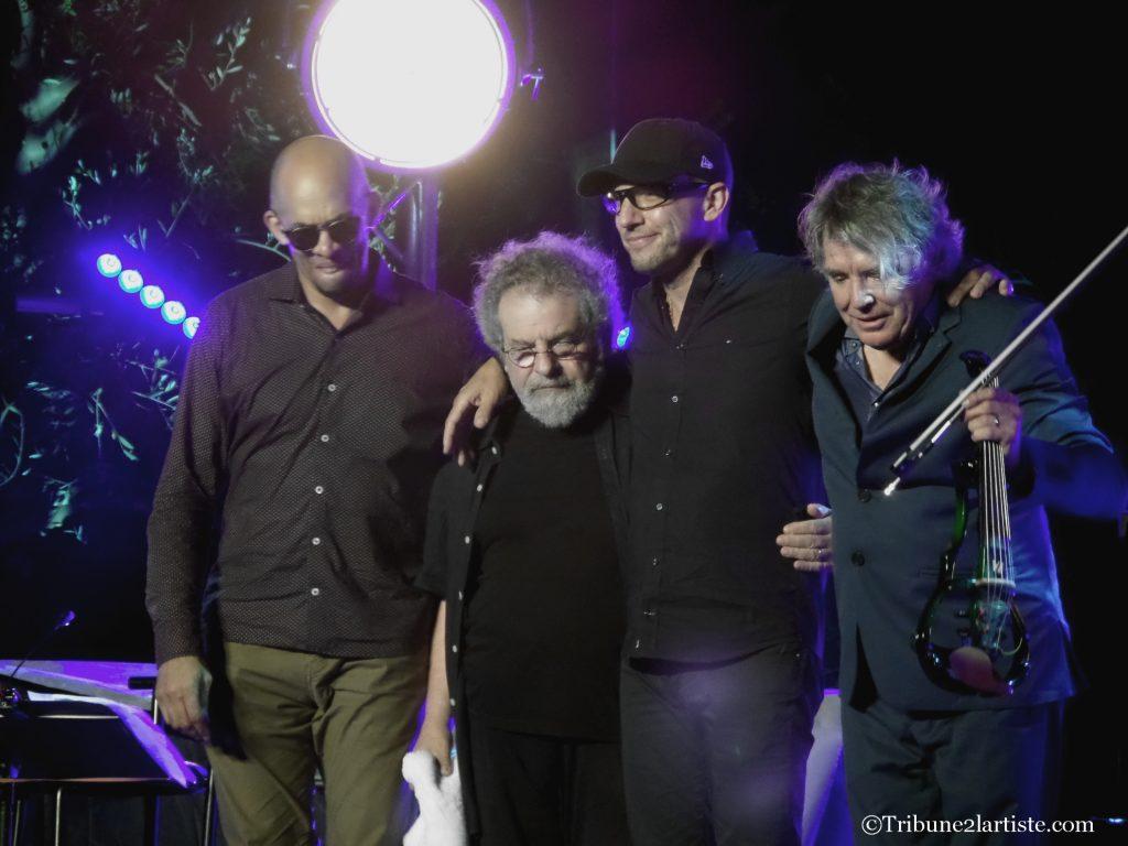 Didier Lockwood quartet/©Tribune2lartiste