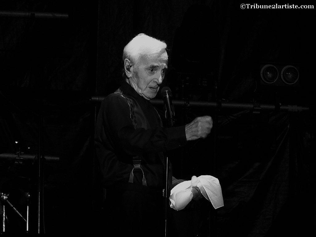 Charles Aznavour/©Tribune2lartiste