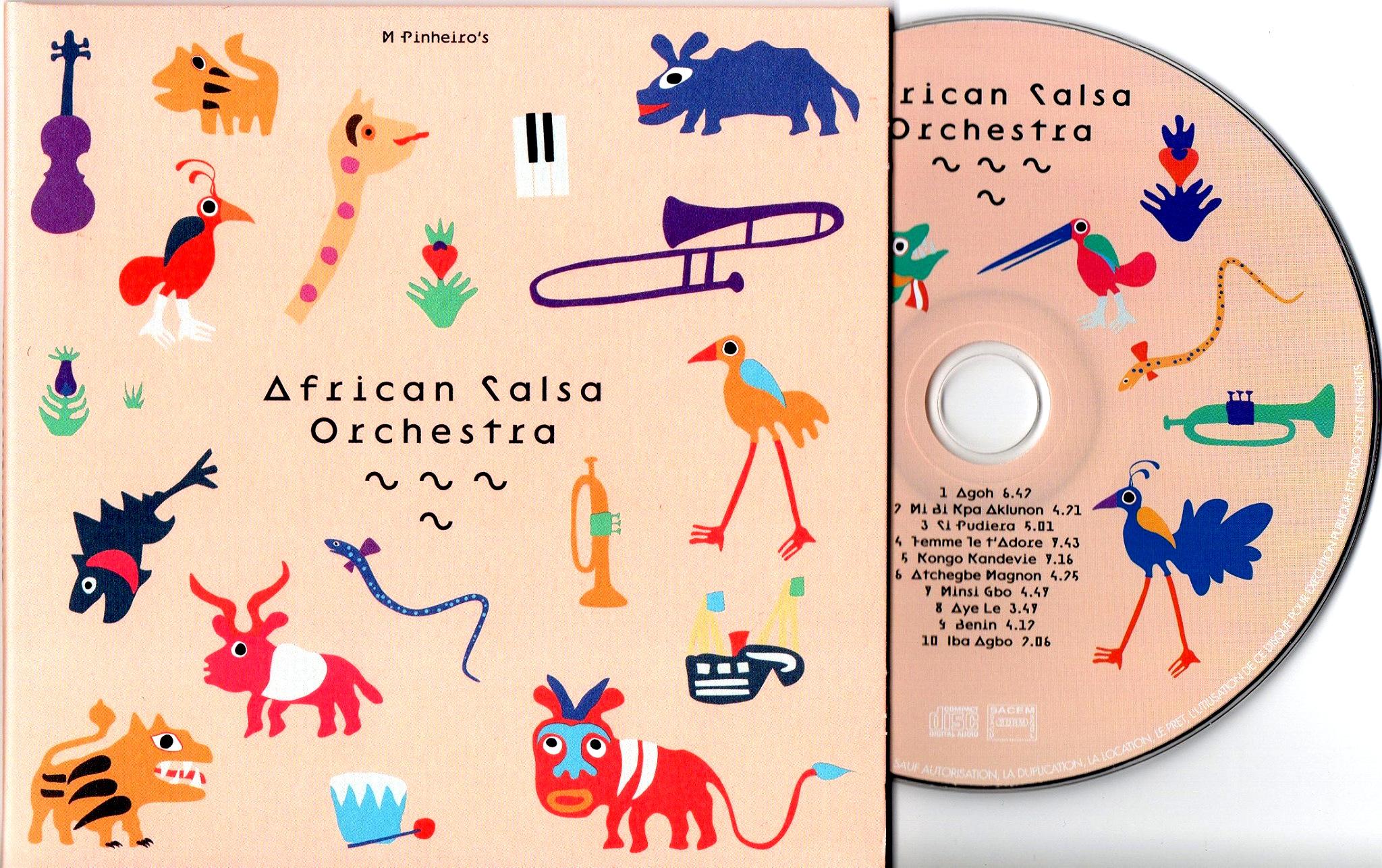 Michel Pinheiro et African Salsa Orchestra font la subtile fusion et rappellent la nature africaine de la salsa.