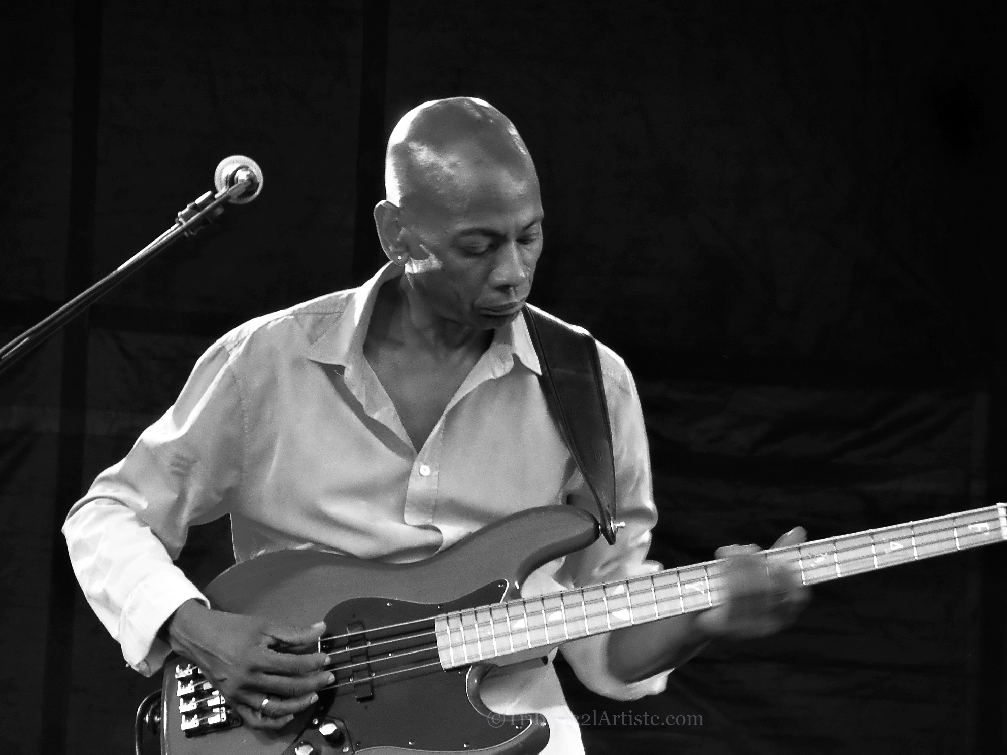 """Reggie Washington:""""Musicians nowaday don't understand their role now in world situations because due politically. Music is a form of power…"""""""