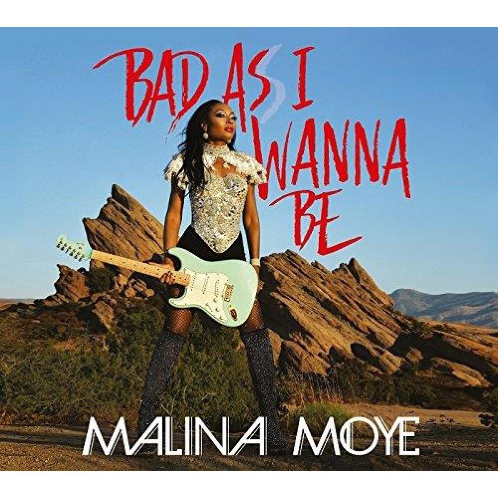 Malina Moye, une guitariste avec beaucoup de caractère tant dans le jeu que dans l'attitude.