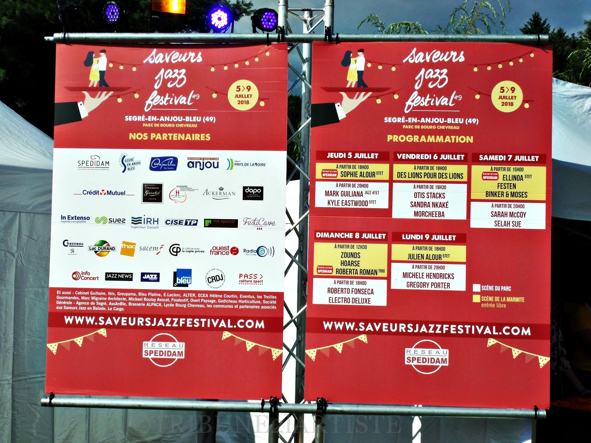 Les Saveurs Jazz Festival : un démarrage tonitruant, et qui augure d'une suite encore plus soutenue au regard de la liste.