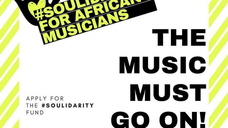 SOULIDARITY – pour les musiciens africains pendant COVID19